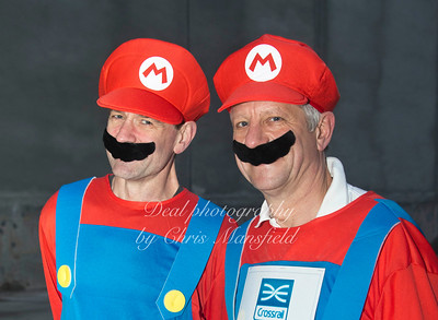 A couple of crossrail bosses ... not sure who they are .. Feb 2013