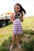 Abigail Rich from Aurora, 6yrs old (1st Mutton bustin winner)