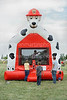 A free bounce house provided by Living Springs Vet Clinic