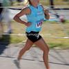 Susan Koering of Littleton, CO begins the running portion of the race