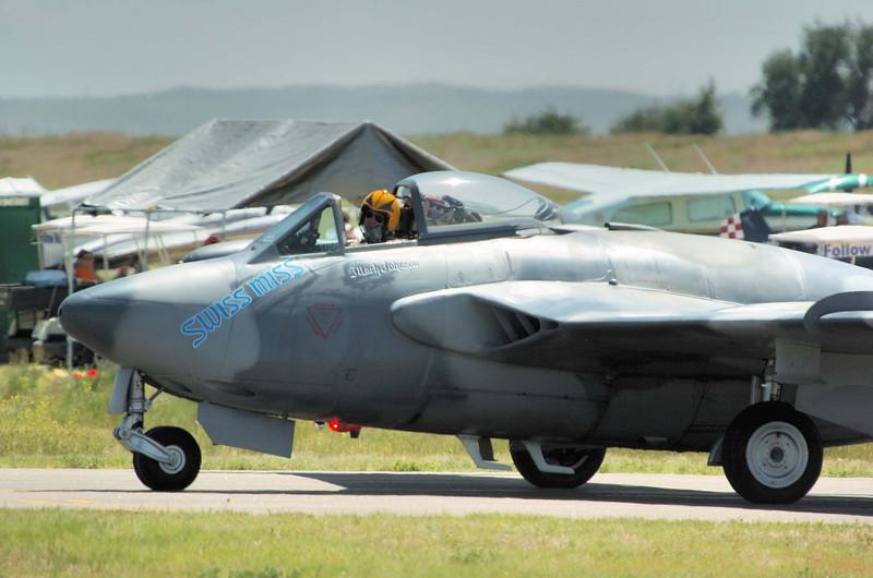 """de Havilland DH-112 """"VENOM"""" Mark Johnson"""