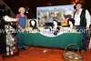Joyce and MAlcolm Babb of Teacup Oasis Alpacas (new area business) display their goods.  They raise alpacas and process the fleece into knitted garments, sell homemade jams and have high teas south of Byers.