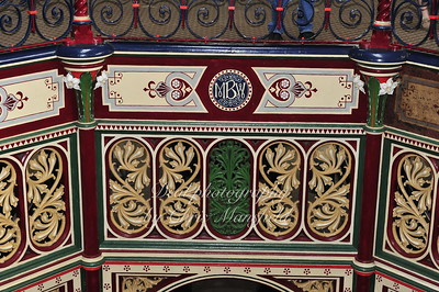 Ornate steelwork at the Crossness sewage works
