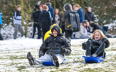 Feb 28th 2018 Abbey wood snow Chris Mansfield 37