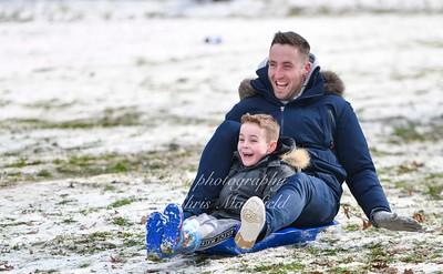 Feb 28th 2018 Abbey wood snow Chris Mansfield 05