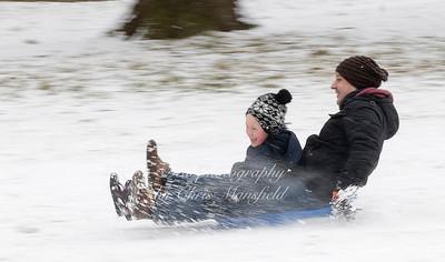 Feb 28th 2018 Abbey wood snow Chris Mansfield 25