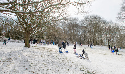 Feb 28th 2018 Abbey wood snow Chris Mansfield 26