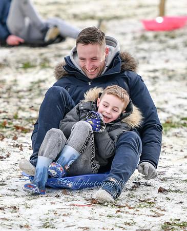 Feb 28th 2018 Abbey wood snow Chris Mansfield 35