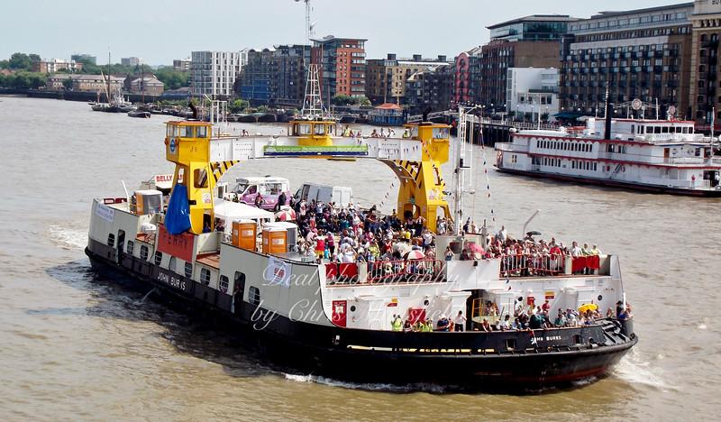 July 2013 .. Ferry charity trip