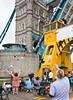 The return trip through Tower Bridge