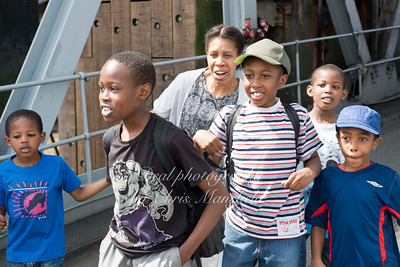 Kids boarding