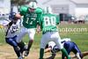 Jacob Nahrwold evades panther defense