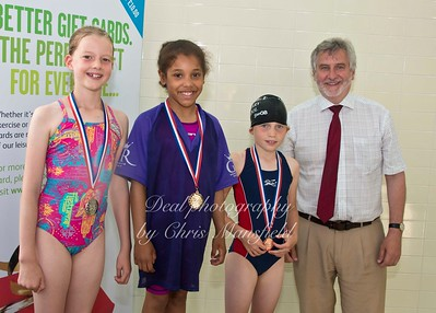 swimming gala July 3rd 2015 mansfield event three winners