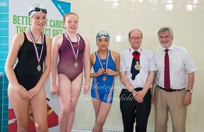 swimming gala July 3rd 2015 mansfield event one winners