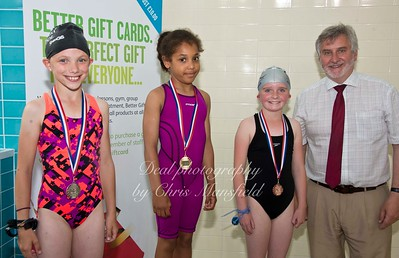 swimming gala July 3rd 2015 mansfield event thirteen winners