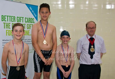 swimming gala July 3rd 2015 mansfield event sixteen winners