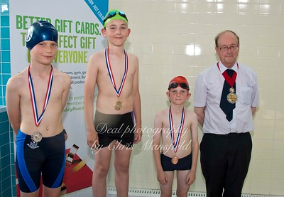 swimming gala July 3rd 2015 mansfield event six winners