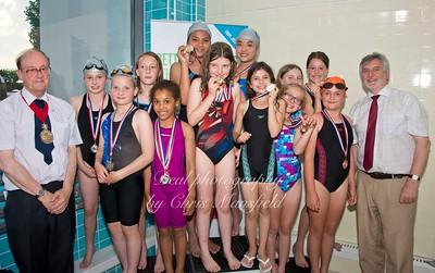 swimming gala July 3rd 2015 mansfield event seventeen winners