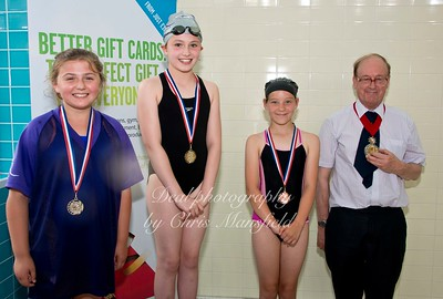 swimming gala July 3rd 2015 mansfield event five winners