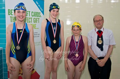 swimming gala July 3rd 2015 mansfield event eleven winners