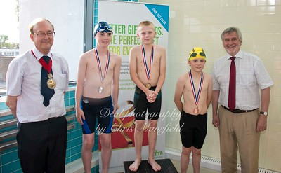 swimming gala July 3rd 2015 mansfield event two winners