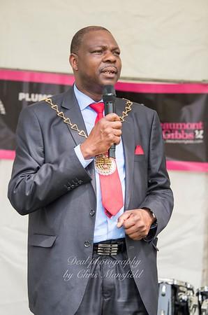 Mayor Cllr Olu Babatola