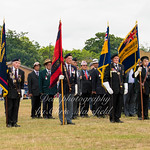 June 24th 2017 armed forces day standard bearers