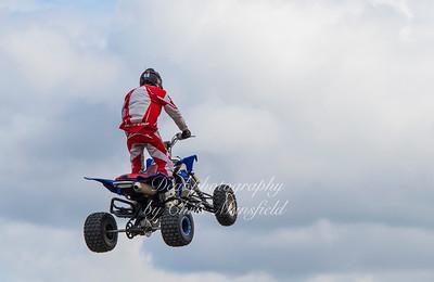 June 24th 2017 armed forces day stunt quad bike