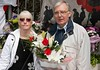 Lee Rigby grandparents pay their respects