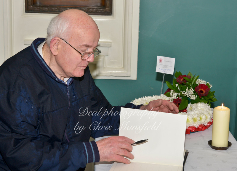 May 2013... Lee Rigby book of condolence