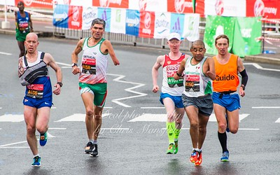 Paralympic runners