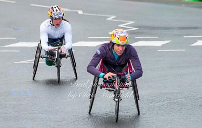 Ladies Wheelchair athletes