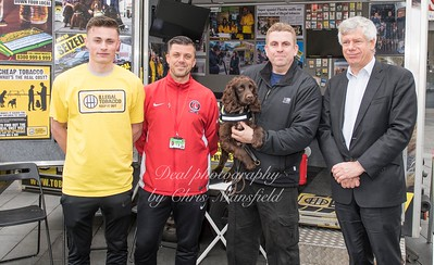 March 31st 2017 Sniffer dog mansfield 09