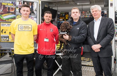 March 31st 2017 Sniffer dog mansfield 10