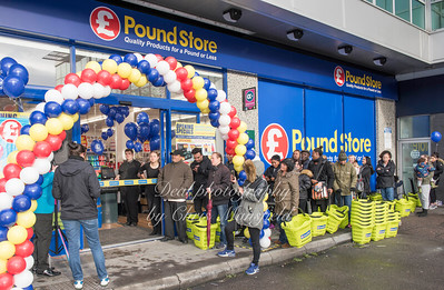 Nov' 30th 2017 Poundstore Greenwich 01