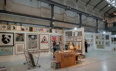 Nov' 22nd 2018. Woolwich Contemporary print fair