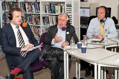 UKIP MP Richard Hilton ( left )