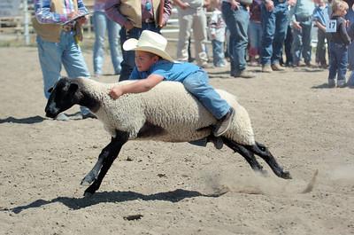 Deer Trail Rodeo 8-19-07