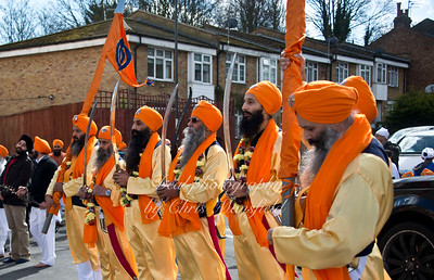 Sikh Procession April 11th 2015