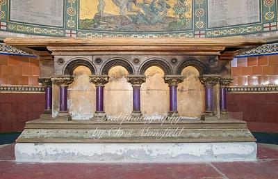 Oct' 19th 2019.  Garrison Chapel Altar