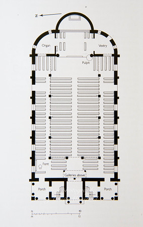 Garrison church floor plan