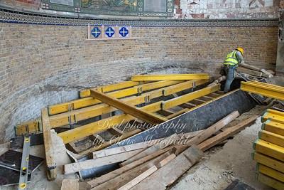 Nov' 21st 2018 ,  preparing to lay a new floor