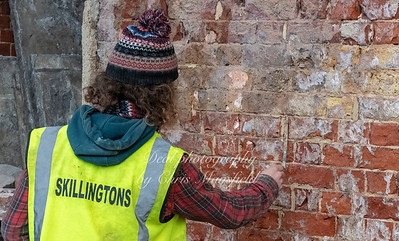 Dec' 20th 2018,  Lot's of repointing going on at the moment