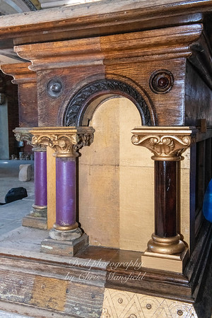 Oct' 20th 2019 Garrison chapel altar