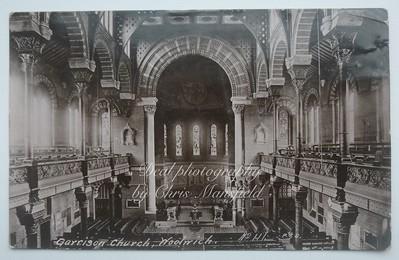 1911 Garrison Church interior
