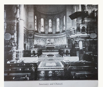 Garrison church Sanctuary and Chancel
