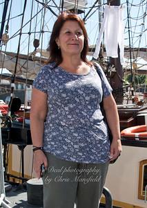 tour guide lady