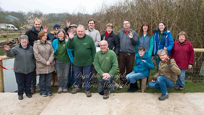 March 20th 2015 Woodlands farm staff and volunteers.