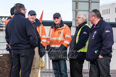 Feb 3rd 2017  woolwich ferry strike Mansfield 12