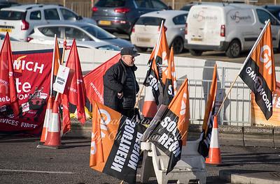 Feb 3rd 2017  woolwich ferry strike Mansfield 03